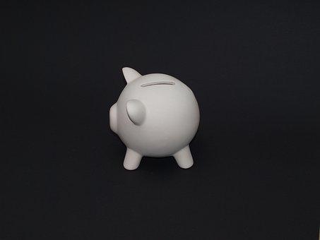 Piggy Bank, Pig, Save Money, Save, Money, Lucky Pig