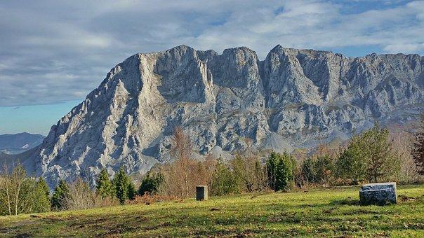 Mount, Mountain, Limestone, Sierra, Alluitz, Urkiola