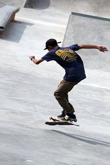 Skatepark, Skateboards, Boy, Skater, Skateboarding