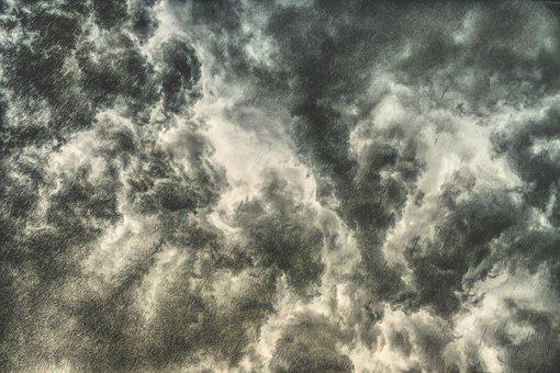 Storm Clouds, Clouds, Sky, Thunderstorm, Dark Clouds