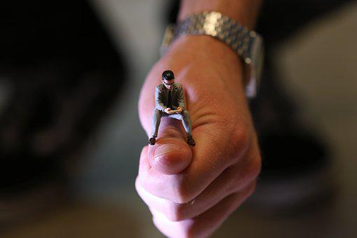 Figure, Miniature, Hands, Male, Business, Toy