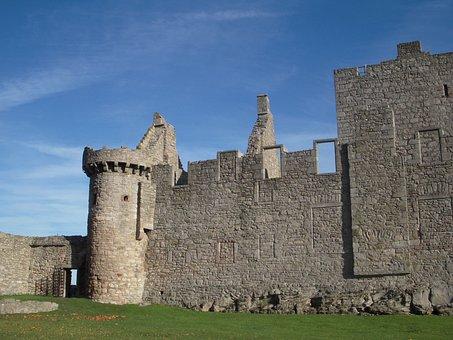 Castle Craigmillar, Edinburgh, Scotland, Travel