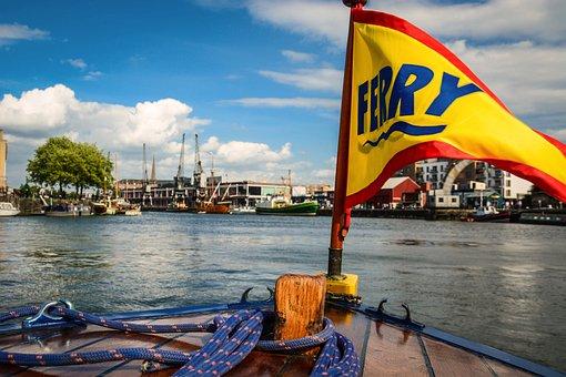 Bristol, Harbour, Ferry, Water, England, Uk, Harbor