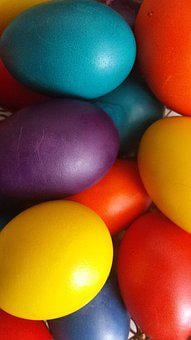 Easter, Easter Eggs, Holiday, Bright Colors