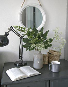 Home, Design, Interior, Still Life, Vase, Flowers