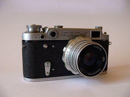 Cover 2, Camera, Old, Cameras, Film, Photography, Retro
