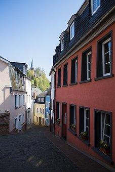 Saarburg, Saarland, City, Homes, Old Town, Building