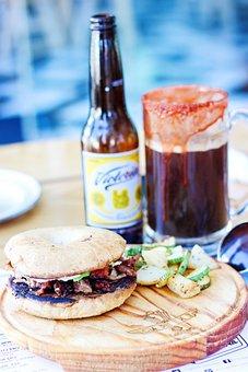 Burger, Bagel, Bread, Lunch, Sandwich, Cuisine