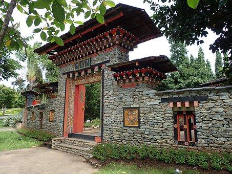 Asia, Architecture, Temple, Buddhist, Buddhism, Stones