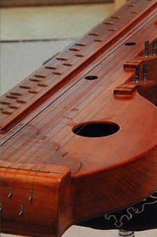Zither, Musical Instrument, String Instruments, Music