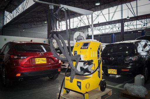 Workshop, Vehicles, Welding