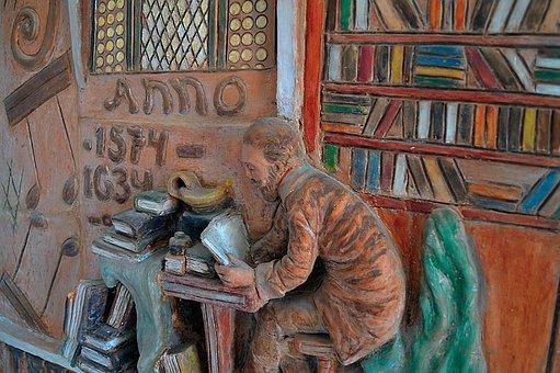 Relief, Statue, Art, Statue Of A Man, Wooden Sculpture