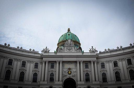 Vienna, Hofburg Imperial Palace, Austria, Architecture
