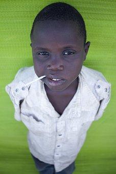 Child, Black, Portrait, Boy, Young Child, Black Skin