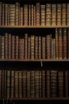 Books, Covers, Book Case, Old, Library, Education