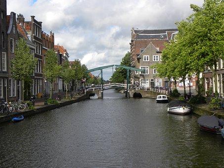 Lead, Bridge, Canal, Netherlands, Historical Center