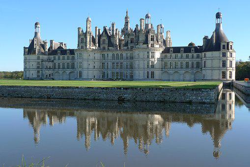 Chambord, Castle, France, Royal Castle, Architecture