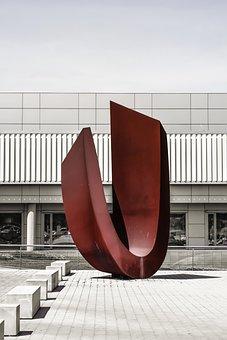 Sculpture, Art, Modern, Architecture, Nicosia, Cyprus