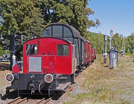 Museum Train, Diesel Locomotive, Railway Museum
