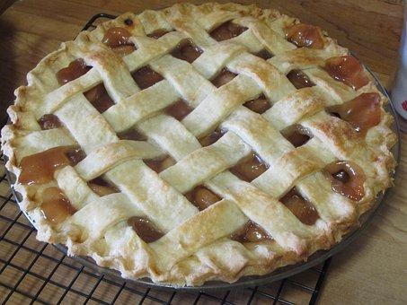 Apple Pie, Homemade, Apple, Dessert, Pie, Food, Pastry