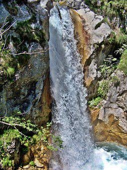 Natural Spectacle, Waterfall, Karawanken, Carinthia