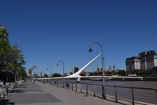 The Bridge Of The Woman, Buenos Aires, Puerto Madero