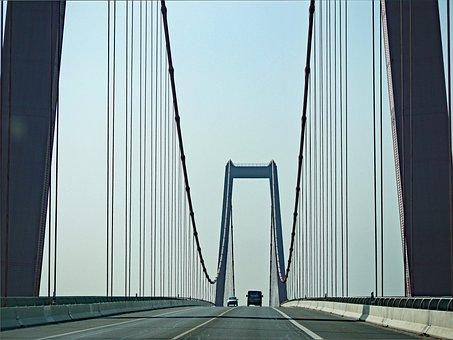 Suspension Bridge, Niederrhein, Emmerich