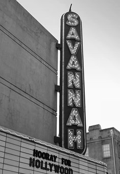 Theater, Cinema, Savannah, Travel