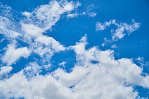 Cloud, Nature, Air, Sky, Clouds, Landscape, Blue, White