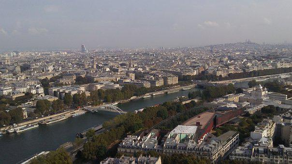 City, Paris, Eiffel Tower, Views, France, Architecture