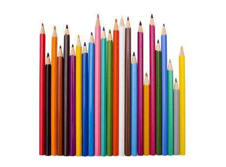 Color, Group, Pencil, Variation, Art, Image, Objects