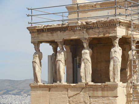 Athens, Greece, Ancient, Greek, Europe, Architecture
