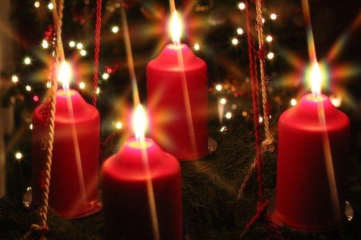 Xmas, Christmas, Advent, Candle, Holiday, Decoration