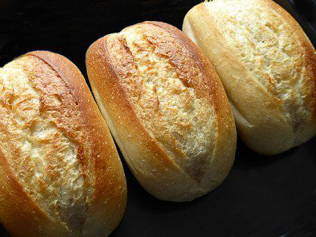 Baked, Roll, Breakfast, Crispy, Baked Goods, Frisch