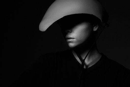 Model, Fiction, Hat, Black And White, Overview
