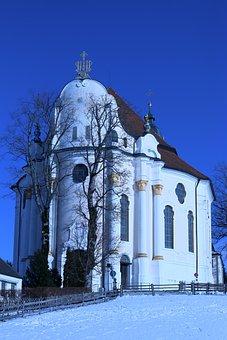 Wies, Church, Germany, Pilgrimage, Bavaria