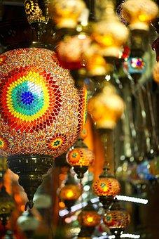 Chandelier, Gift, Light, Lamp, Macro, Background