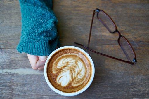 Coffee, Hands, El, Caffeine, Kazakh, Blue, Green, Table