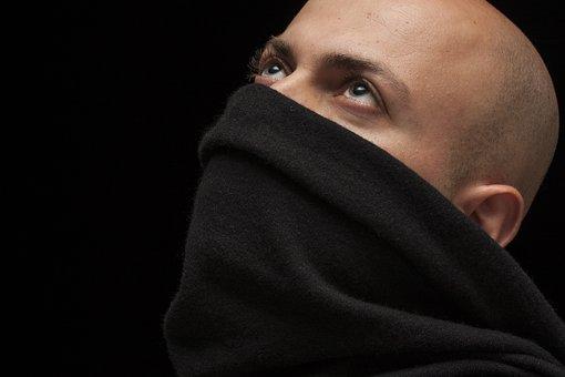 Male, Model, Mask, Overview, Eyes, Blue, Handsome, Man
