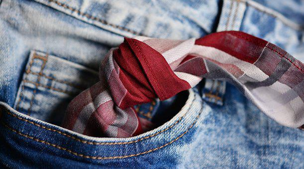Pocket, Handkerchief, Knot, Don't Forget, Memory