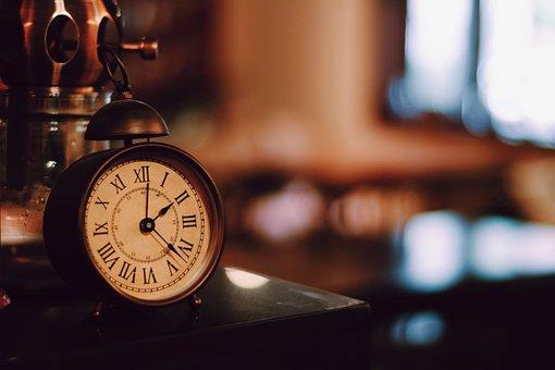 Alarm Clock, Retro, Literature And Art