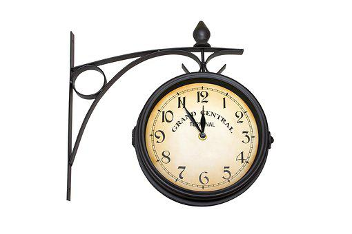Station, City, Clock, Urban, Retro, Hour, Central
