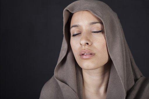 Women's, Model, Sister, Beautiful, Scarf, Headscarf