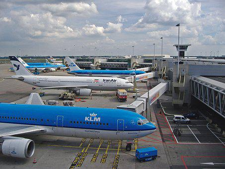 Airport, Terminal, Schiphol, Amsterdam, Architecture