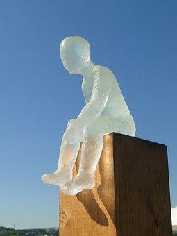 Glass, Sculpture, Art