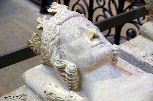 St Denis, Basilica, Royal, Tomb, King, Recumbent