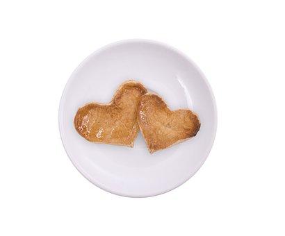 Plate, Cookie, Shape, Heart, Food, Dessert, Sweet, Day