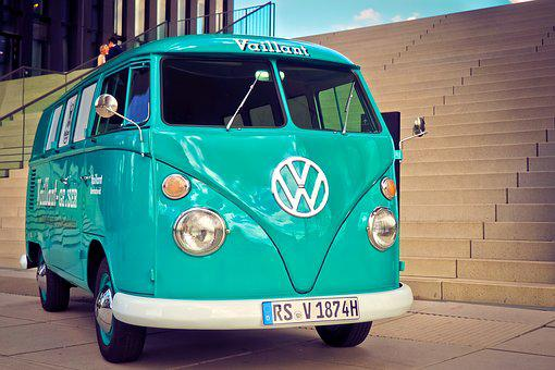 Vw, Bus, T1, Volkswagen, Vw Bus, Old, Auto, Vehicle