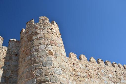 Spain, Avila, Wall, Tourism, History, Architecture