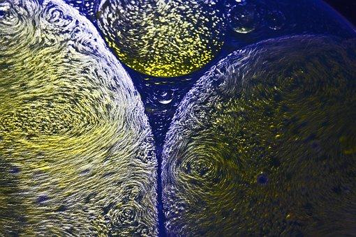 Abstract, Pattern, Texture, Blue, Green, World
